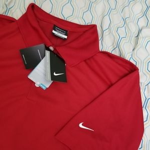 NEW Nike Golf Dri Fit Micro Pique Polo Stay Cool